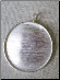 "Silver Pendant size 2 1/8"" round"