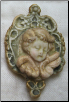 Sleeping Cherub in Cameo (SKU: EE11)