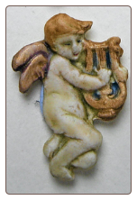 Cherub with Lyre