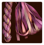 Montano Series - Set of Silk Ribbon & Silk Thread